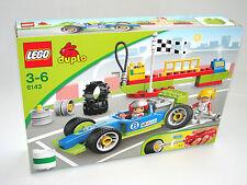 LEGO® Duplo 6143 Rennfahrzeug NEU OVP_ Racing Team NEW MISB NRFB