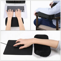 2x Chair Armrest Pads Memory Foam Chair Arm Covers Hand Rest Pad for Bar Office