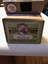 Old Fashioned Milk Paint Non-Voc, 6 oz makes 1 pint, Pitch Black
