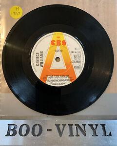 "PROMO ~ Deniece Williams-What two can do Vinyl 7"" Single 1981 EX CON"