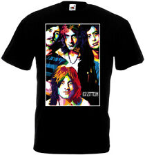 Led Zeppelin v15 T-shirt hard rock band Page Plant Bonham Jones all sizes S..5XL