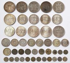 Sammlung Lot Konvolut Niederlande 45 Münzen Silber 417 g 1848-1984 Silbermünzen
