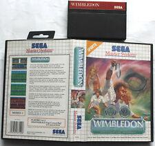Wimbledon   - Sega Master System Tennis Spiel in OVP  PAL 1992