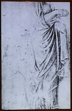 Drawing After a Funeral Stele, Sebastiano del Piombo, Magic Lantern Glass Slide