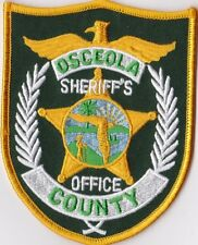 Osceola County Sheriffs Office FL Florida Police Patch NEW!!