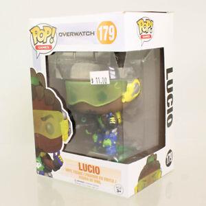 Funko POP! Games - Overwatch S2 Vinyl Figure - LUCIO #179 *NON-MINT BOX*