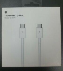Genuine Apple Thunderbolt 3 USB-C Cable 0.8m (MQ4H2AM/A)