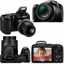 NIKON COOLPIX  L340  BRIDGE CAMERA   (BLACK) *28X ZOOM*      (upgrade to L330)