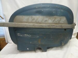 EARLY 1950'S EVINRUDE 25HP BIG TWIN COWL COVER SHROUD HOOD BOAT MOTOR OUTBOARD