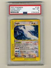 Pokemon PSA 8 NM-Mint Crystal Lugia Aquapolis English Holo Card 149/147