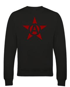 COMMUNIST ANARCHY STAR- Iconic Symbol- Cool Men's Sweatshirt