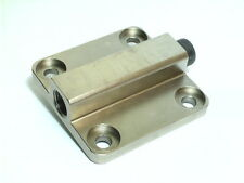 Vw Type 1 engine full flow oil pump cover with pressure relief valve