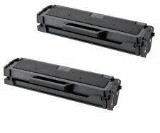 2-Pack/Pk Samsung MLT-D101S Black Toner Cartridge ML-2165W SCX-3405W SF760P