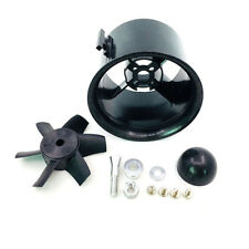 6-Blade 70 mm Duct Fan Unit Prop Kit for RC Ducted Fan Jet EDF AirPlane Aircraft