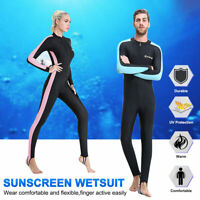 Mens Women's Stretch Full Body Wetsuit Surf Swim Diving Steamer Wet Suit Sightly