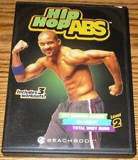 Hip Hop Abs BeachBody Level 2 3 Workouts Shaun T 2 DVD Set 2007 Cardio Sculpt