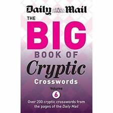 Daily Mail Big Book of Cryptic Crosswords Volume 6 by Daily Mail (Paperback,...