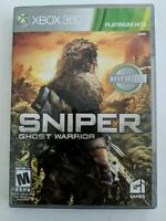 Sniper: Ghost Warrior (Microsoft Xbox 360, 2010) Tested - FREE SHIPPING