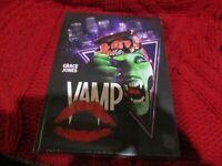 "COFFRET BLU-RAY NEUF ""VAMP"" Grace JONES / film d'horreur de Richard WENK"