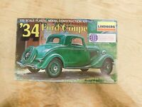 1979 Lindberg '34 Ford Coupe 1/32 Model Kit # 2119