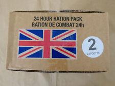 Menue #02 GB ARMY 24 Hour Combat Ration MRE EPA SURVIVAL Notration Verpflegung