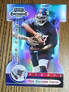 2000 Contenders TD Tandems Total RON DAYNE T. Jones 12/35  - New York Giants