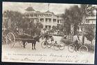 1907 Ormond Beach FL USA RPPC Postcard Cover Oxcart Horseless Age