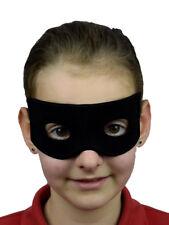 Mens Black Masquerade Mask Zorro Robber - Posted from Australia Regular Post