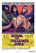 SCHOOL FOR UNCLAIMED GIRLS Movie POSTER 27x40 Madeleine Hinde Ren e Asherson