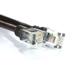 15m ADSL 2+ High Speed Broadband Modem Cable HQ Lead RJ11 to RJ11 LONG BLACK