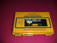 Vintage retro very rare Alba Aquaman Waterproof Cassette Player walkman style