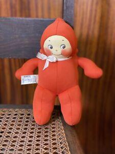 "9"" Kuddle Kewpie Cloth Doll 1920s Original Rose O'Neill Krueger Tag Super clean"