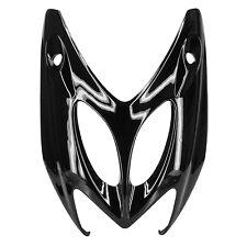 Tablier Coque Face Avant de qualité pr MBK Yamaha NITRO / AEROX 50 Noir  Métal