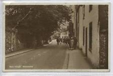 (w14p85-345) Real Photo of Bare Village, MORECAMBE 1928 Used F-G