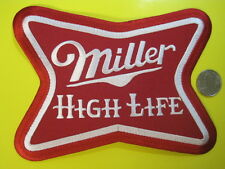BEER PATCH MILLER HIGH LIFE BEER LARGE BACK SIZE NEW LOOK! BUY NOW!*