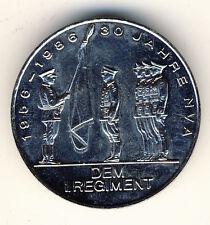 DDR - 30 JAHRE NVA 1956-1986 - Dem I. REGIMENT - ANSEHEN (135)