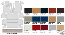 1981-82 Complete Corvette Carpet Set (Brand New)