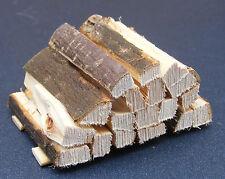 1:12 Scale Stack Of Split Wood Logs Tumdee Dolls House Miniature Garden 497
