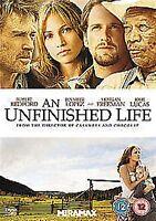 An Unfinished Life - 2011 Robert Redford, Jennifer Lopez, Morgan NEW UK R2 DVD