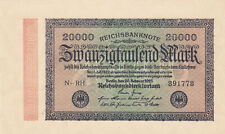 20 000 MARK UNC BANKNOTE FROM GERMANY 1923 PICK-85