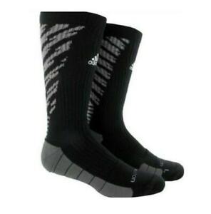 Adidas Womens S 5-6.5 Team Speed Traxion Crew Socks Black 5132739 FAST SHIP! F44