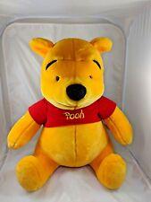 "Huge Winnie the Pooh Plush Sits 19"" Mattel"