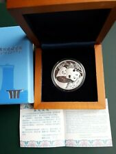 2012 CHINA 1 oz silver medal PANDA Singapore Coin Fair - Mintage 10,000 coins !