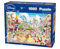 1000 Piece Disney Land Parade Carnival Cartoon Characters Jigsaw Puzzles 55886