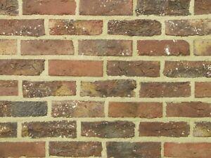 Originale Feldbrandsteine Verblender BH609 rot-braun Vormauersteine Klinker