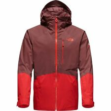 The North Face Men's SICKLINE Insulated Ski Jacket Chocolate Brown/ Fiery Red M