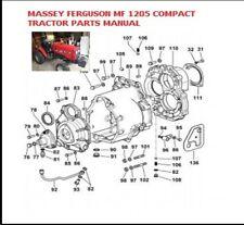 Massey Ferguson Mf 1205 Compact Tractor Parts Manual