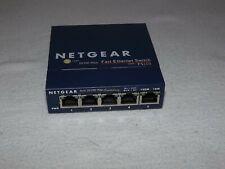 NETGEAR FS105 V2  5-Port 10/100 Fast Ethernet Network Switch