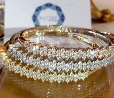 Bracelets 3300$ each Bracelets Beautiful 14k Tri Color Diamond