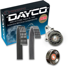 Dayco Serpentine Belt Drive Component Kit for 2009-2014 GMC Yukon XL 1500 is